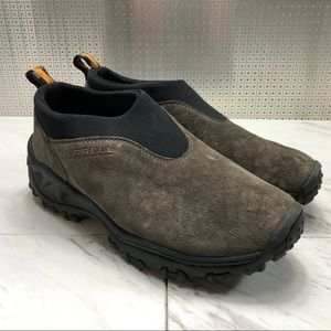 Merrell Moc suede slip on ankle boots hiking
